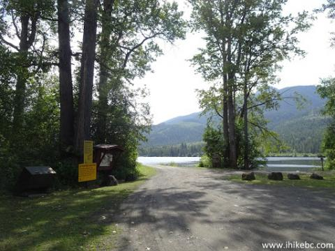 Mahood Campground, Wells Gray Provincial Park